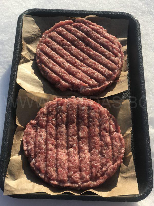 телешки бургер