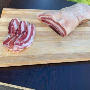 сушено-пушени свински гърди